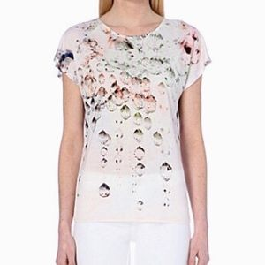 Ted Baker Printed Tee Caedi Crystal Droplets Shirt